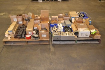2 PALLETS OF ASSORTED INSTRUMENTATION