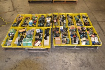 2 PALLETS OF ASSORTED SOLENOID VALVES, ASCO