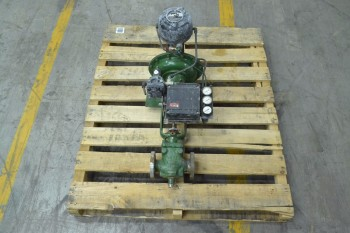 FISHER 657 ES 1 IN 300 STAINLESS CONTROL VALVE (BRAMPTON)