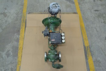 FISHER 657 ED 1-1/2 IN 300 STAINLESS CONTROL VALVE (BRAMPTON)