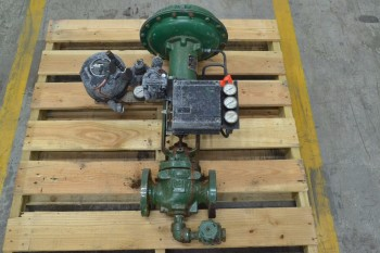 FISHER 667 ED 1-1/2 IN 300 STEEL CONTROL VALVE (BRAMPTON)