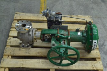 FISHER 657 ET 2 IN CLASS 300 STAINLESS CONTROL VALVE (BRAMPTON)