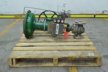 FISHER 657 ET CAV III 1-1/2 IN STAINLESS CONTROL VALVE (BRAMPTON)