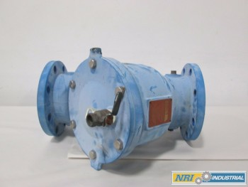 WATTS 909 6IN BACKFLOW PREVENTER STRAINER FLANGED