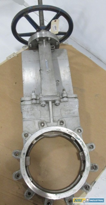 FNW 65BM 12 IN STAINLESS FLANGED KNIFE GATE VALVE