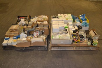 2 PALLETS OF ASSORTED VALVES AND PARTS