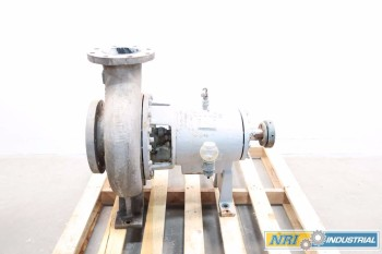 GOULDS 3196 XLT 6X8 STAINLESS CENTRIFUGAL PUMP