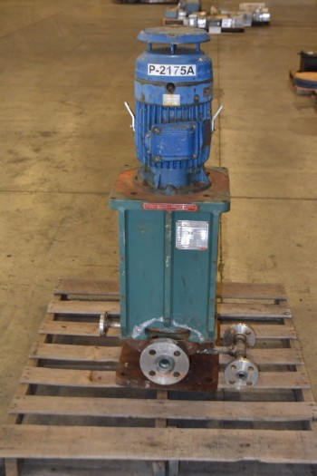 CPC VP-CX S1.5X3X7 15 GPM VERTICAL CENTRIFUGAL PUMP