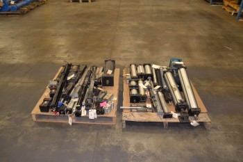 2 PALLETS OF ASSORTED PNEUMATIC CYLINDERS