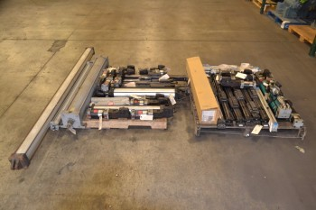 2 PALLETS OF ASSORTED PNEUMATIC CYLINDERS, PARKER