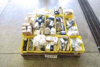 1 PALLET OF ASSORTED PNEUMATIC REPLACEMENT PARTS