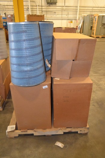 3 PALLETS OF ASSORTED PNEUMATIC FILTER ELEMENTS