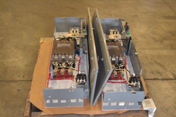 LOT OF 2 ALLEN BRADLEY 1100-BOD93 MCC BUCKETS