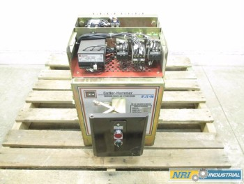 CUTLER HAMMER DB25 VACUUM CONTACTOR SIZE 6 540A 400HP