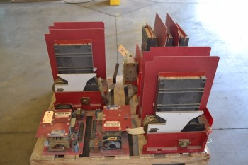 LOT OF 5 ASSORTED SWITCHGEARS
