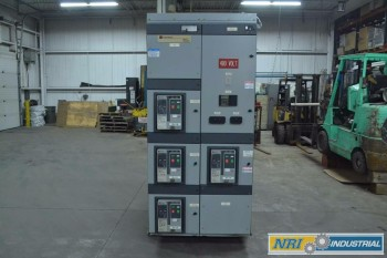 CUTLER HAMMER MDS620 MAGNUM DS 2000A LOW VOLTAGE BREAKER SWITCHGEAR