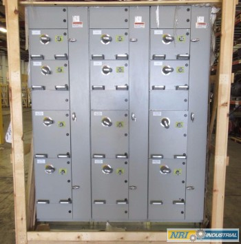 NEW ABB MNS-MCC 3X VERTICAL MCC SECTIONS 13X FEEDER BUCKET SWITCHGEAR