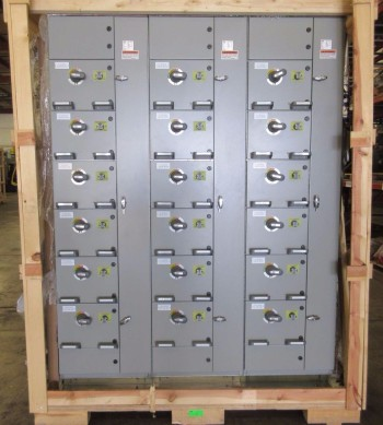 NEW ABB MNS-MCC 3X VERTICAL MCC SECTIONS 18X FEEDER BUCKET SWITCHGEAR