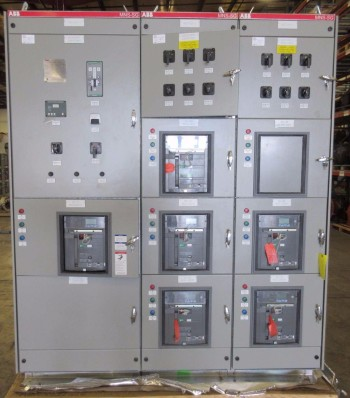 NEW ABB MNS-SG SWITCHGEAR 5X SACE E2S-A 1600A 1X SACE E4S-A 3200A
