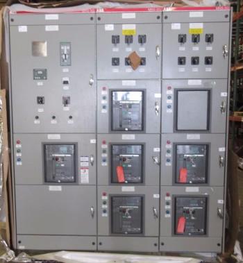 NEW ABB MNS-SG SWITCHGEAR 5X SACE E2S-A 1600A 1X SACE E4S-A 3200A BREAKER