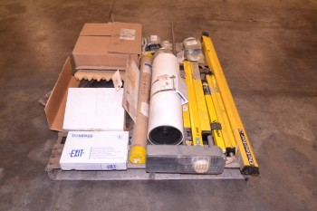 1 PALLET OF ASSORTED SAFETY AND SECURITY