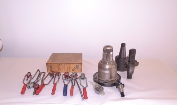 LOT OF ASSORTED TOOL HOLDERS