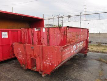 7 Dumpsters 6-10 Yards And 1-15 Yards