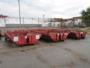 6 Dumpsters 6 Yards Each