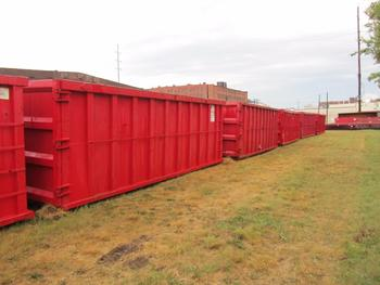 7 Dumpsters  40 Yards Each