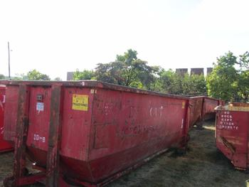 6 Dumpsters 20 Yards Each