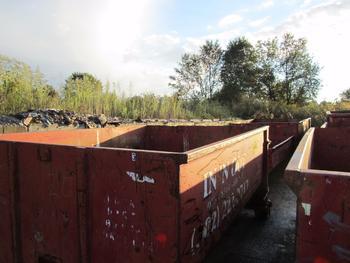 6 Dumpsters, 1-10 Yard, 4-15 Yard 1-20 Yard