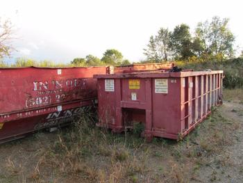 6 Dumpsters, 3-15 Yard, 1-6 Yard, 1-8 Yard, 1-20