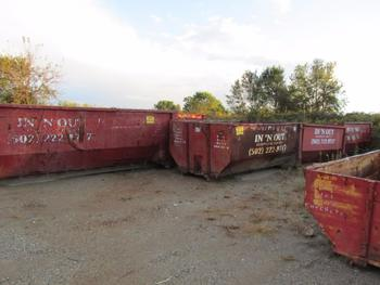 10 Dumpsters, 815 Yards And 1-20 Yards 1-10 Yards