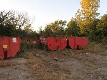 8 Dumpsters, 6-15 Yards 2-10 Yards