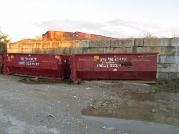 10 Dumpsters, 5-20 Yards And 4-15 Yards 1-30 Yards