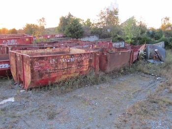 Approximately 25 To 30 Scrap Dumpsters