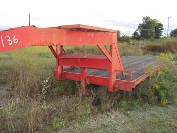Tandem Axle 20 Foot Gooseneck Flatbed Trailer