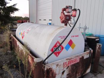 Approximately 1000 Gallon Fuel Tank