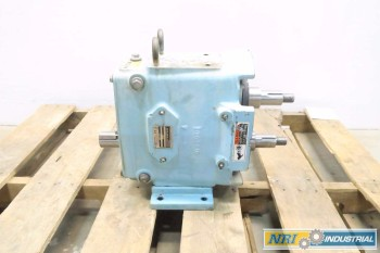 WAUKESHA SANITARY 90 GPM 1-5/8 IN POSITIVE DISPLACEMENT STAINLESS ROTARY LOBE PUMP