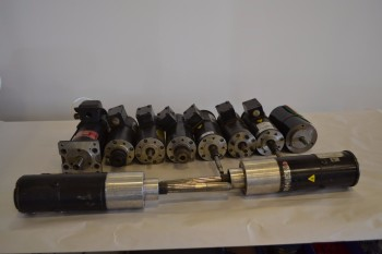 LOT OF 10 ASSORTED SERVO MOTORS