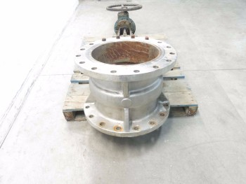 FLOW CONTROL 16 IN 150 SS FLANGED WEDGE GATE VALVE