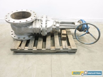 FNW 16 IN 150 SS FLANGED WEDGE GATE VALVE
