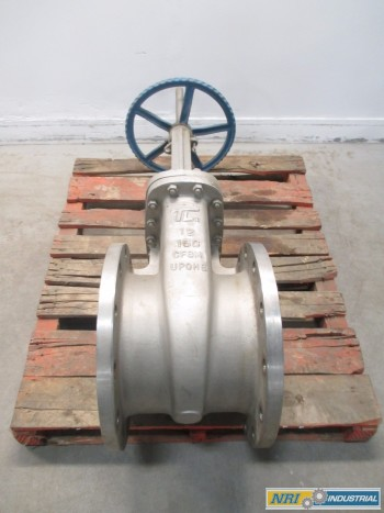 TRUELINE 12 IN 150 SS FLANGED WEDGE GATE VALVE