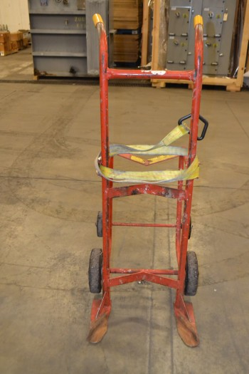 WESCO 50BT 1000LB CAPACITY DRUM HAND CART
