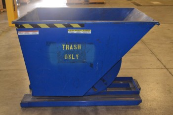 VESTIL D-100-HD STEEL DUMPSTER HOPPER