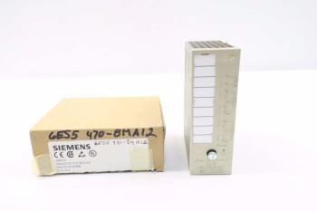 SIEMENS 6ES5470-8MA12 SIMATIC ANALOG OUTPUT MODULE