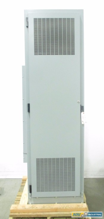 82 IN STEEL 24 IN 24 IN FREE STANDING ELECTRICAL ENCLOSURE