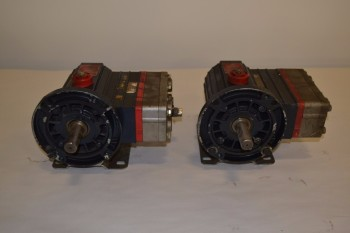 LOT OF 2 WANNER D03BASTSSECA HYDRA-CELL PUMPS
