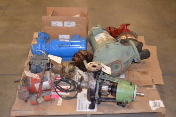 1 PALLET OF ASSORTED PUMPS