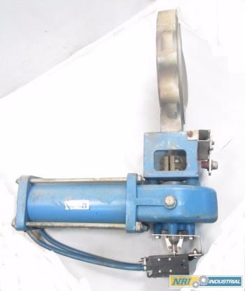 NELES JAMESBURY 12 IN ST600 EK004 P5 CONTROL VALVE
